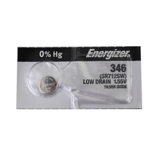 Energizer 346TZ Silver Oxide Coin Cell Batteries 1.55V - Watchbatteries