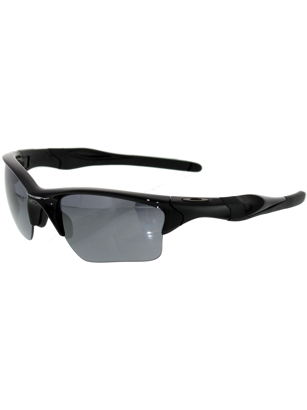 Oakley Sunglasses Mens OO9154-01 Half Jacket 2.0 XL Polished Black / Black Iridium Lenses - Watchbatteries