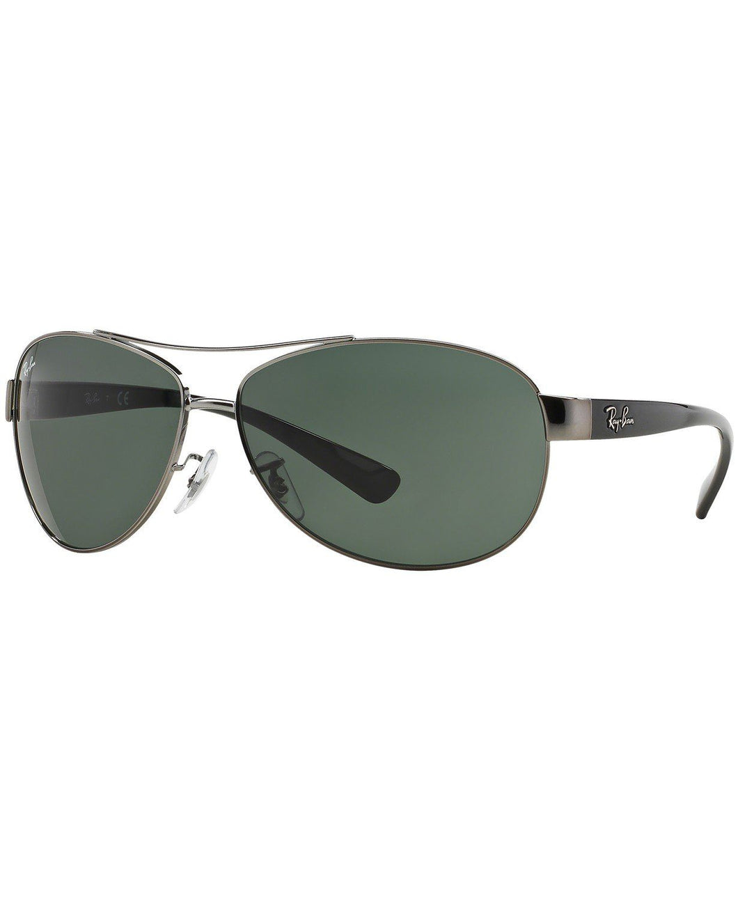 Ray Ban Unisex Pilot Gunmetal Sunglasses 3386-0047/71 63mm - Watchbatteries