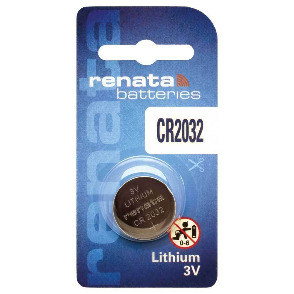 Renata CR2032-CU 225mAh 3V Lithium Primary (LiMNO2) Coin Cell Battery - Watchbatteries