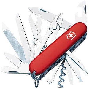 Victorinox Swiss Army 53722 Handyman 21-Function Knife in Red - Watchbatteries