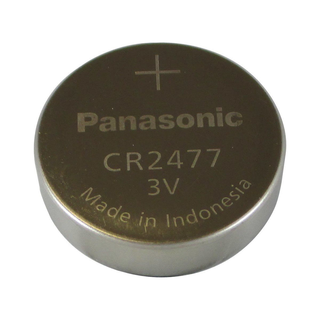 Panasonic CR2477 3V Lithium Coin Cell Battery - Watchbatteries