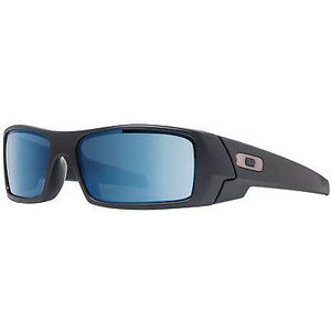 Oakley Sunglasses Mens 26-244 Gascan Matte Black Ice Iridium Polarized Lens Sunglasses - Watchbatteries