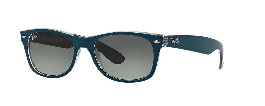 Ray Ban Unisex Wayfarer Blue Gradient 2132-619171 52mm Sunglasses - Watchbatteries