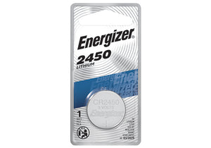 Energizer CR2450 Lithium Coin Cell Batteries 3Volt - Watchbatteries