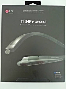 LG Tone Platinum HBS-1100 Black Wireless In-Ear Earphones with Mic (REFURBISHED MINT CONDITION) - Watchbatteries
