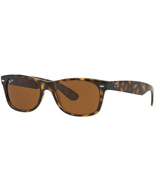 Ray Ban Small Wayfarer Sunglasses, Tortoise Frame 2132-710/51 52mm - Watchbatteries