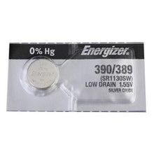 Energizer 390/389 SR1130SW Silver Oxide Coin Cell Batteries - Watchbatteries