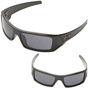 Oakley Sunglasses Mens 03-471 Gascan/ Polished Black - Watchbatteries