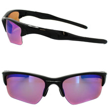 Oakley Mens OO9154-49 Half Jacket 2.0 XL Polished Black Prizm Golf Sunglasses - Watchbatteries