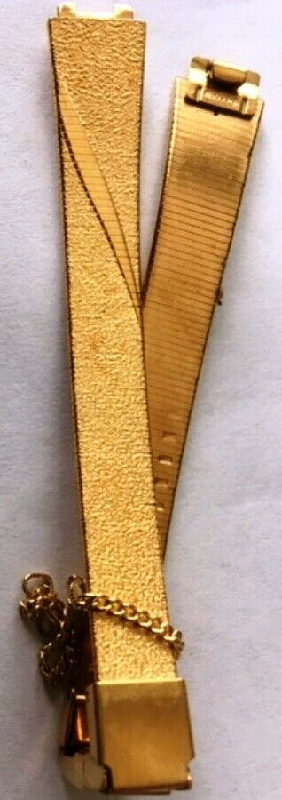 Seiko Ladies Goldtone Band 10mm Made in Japan (no springbars)