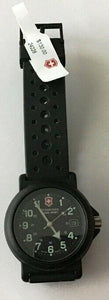"Swiss Army  ""RENEGADE"" large Men's Military Watch Black Model:24228  NEW"