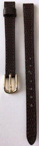 Seiko Ladies Leather Calfskin  Brown Strap 8mm Made in Japan (no springbars)