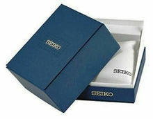 Seiko Leather Strap Chronograph Men's Watch SNAE29P2 STORE DISPLAY FREE-SHIP