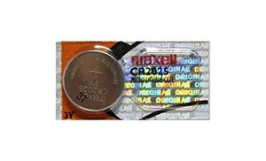 Maxell CR2025 150mAh 3V Lithium (LiMNO2) Coin Cell Battery - Watchbatteries