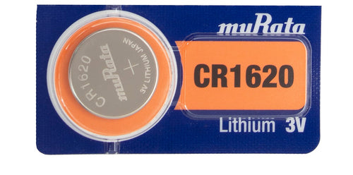 Murata (Replaces Sony) CR1620 75mAh 3V Lithium (LiMnO2) Coin Cell Watch Battery