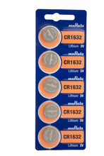 Murata (Replaces Sony) CR1632 140mAh 3V Lithium (LiMnO2) Coin Cell Watch Battery