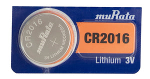 MuRata CR2016 90mAh 3V Lithium (LiMNO2) Coin Cell Battery