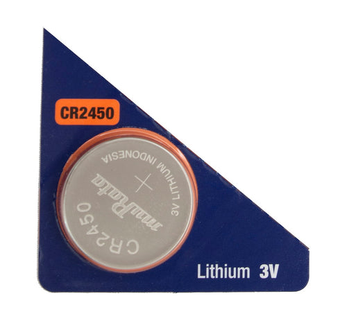 Murata (Replaces Sony) CR2450 610mAh 3V Lithium (LiMnO2) Coin Cell Watch Battery