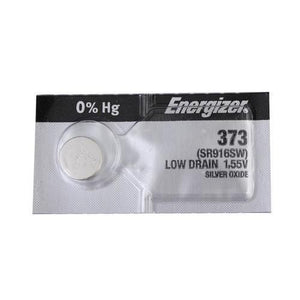 Energizer 373TZ Silver Oxide Coin Cell Batteries 1.55V - Watchbatteries