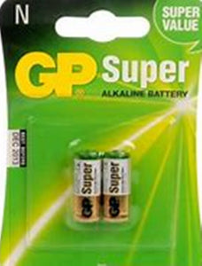 "GP Battery 1.5 Volt GP910 ""N"" Two Pack - Watchbatteries"