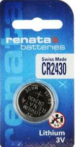 Renata CR2430 Lithium Coin Cell Batteries 3Volt - Watchbatteries