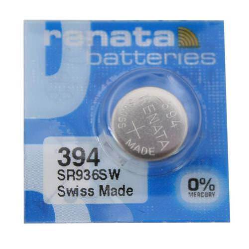 Renata 394 84mAh 1.55V Silver Oxide Coin Cell Battery - Watchbatteries