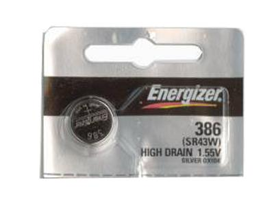 Energizer 386-301TZ Silver Oxide Coin Cell Batteries