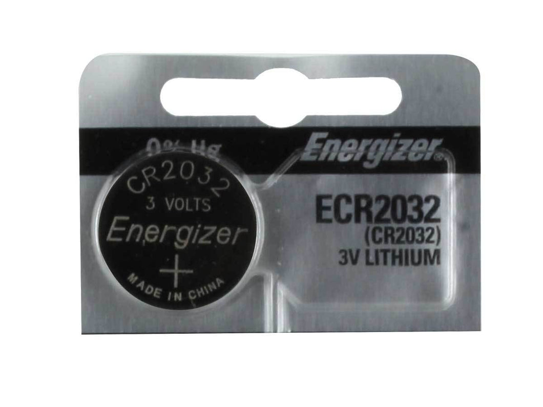 Energizer CR2032 Lithium Coin Cell Batteries 3V - Watchbatteries
