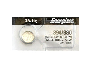 Energizer 394 (SR936W)  Silver Oxide Coin Cell Batteries - Watchbatteries