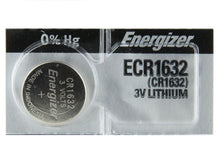 Energizer CR1632 Lithium Coin Cell Batteries 3V - Watchbatteries