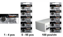 Energizer 344-350TZ Silver Oxide Coin Cell Batteries 1.55V - Watchbatteries
