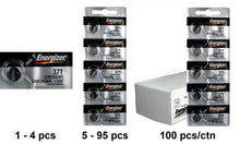 Energizer 371-370TZ Silver Oxide Coin Cell Batteries 1.55V - Watchbatteries