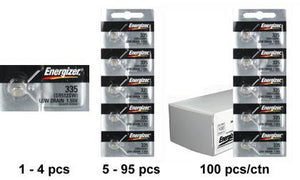 Energizer 335TZ Silver Oxide Coin Cell Batteries 1.55V - Watchbatteries