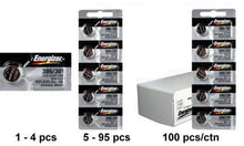 Energizer 386-301TZ Silver Oxide Coin Cell Batteries - Watchbatteries
