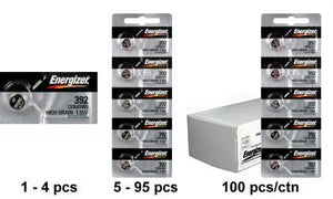 Energizer 392-384TZ Silver Oxide Batteries - Watchbatteries