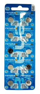 Renata 373 29mAh 1.55V Silver Oxide Coin Cell Battery - Watchbatteries
