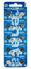 Renata 399 55mAh 1.55V Silver Oxide Coin Cell Battery - Watchbatteries
