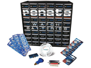 Renata Assorted Coin Cell Batteries Basic Starter Kit - Watchbatteries