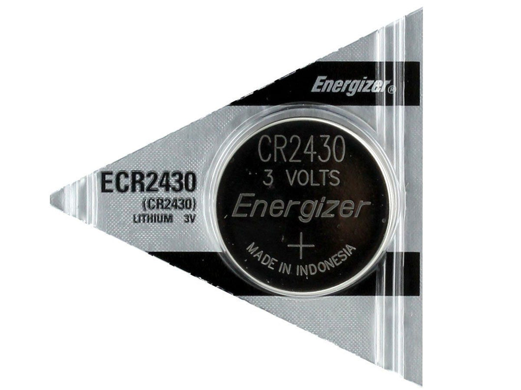 Energizer CR2430 Lithium Coin Cell Batteries - Watchbatteries