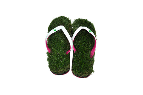 Turkey Hill Grass Flip Flops