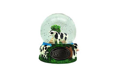 Turkey Hill Cow Snow Globe
