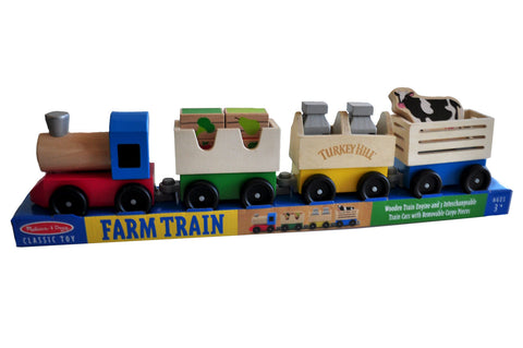 Turkey Hill Melissa & Doug Farm Train