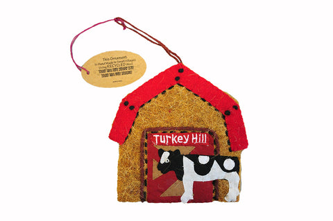 Turkey Hill Barn Wool Ornament