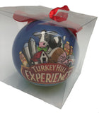 Turkey Hill Big ball ornament