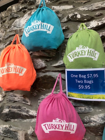 Turkey Hill Jersey Drawstring Bag