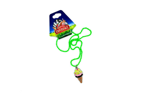 Turkey Hill Ice Cream Beaded Necklace
