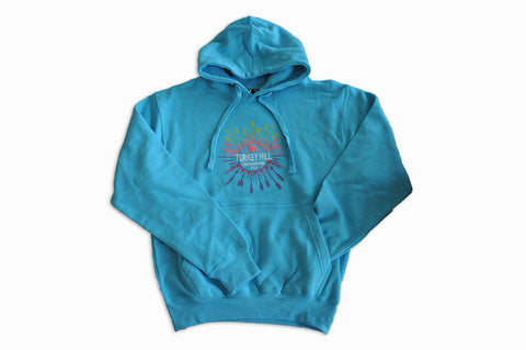 Turkey Hill Aqua Sweatshirt
