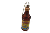 Turkey Hill Glass Tea Bottle Ornament