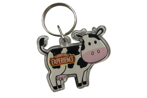 Turkey Hill Experience Cow Key Chain